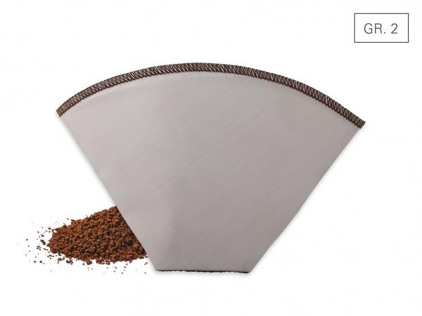 Kaffeedauerfilter faltbar Gr. 2