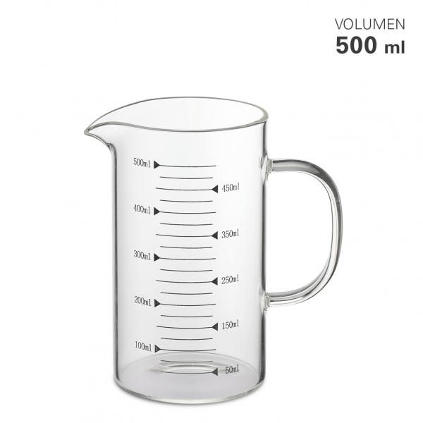 Messbecher Glas 0,5 Liter