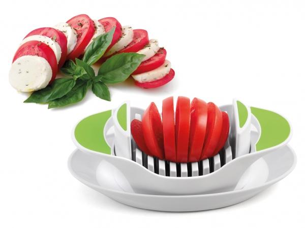 Tomatenschneider weiß/grün