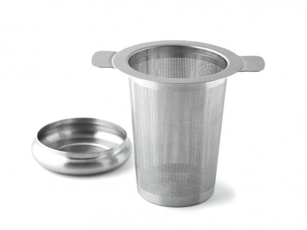 Tee-Filter mit Abtropfschale