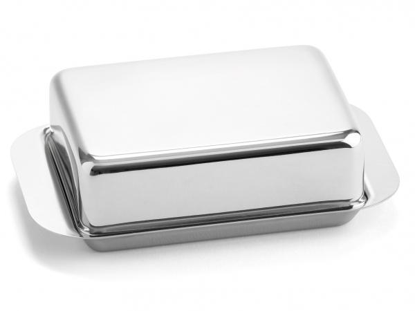 Butterdose für Kühlschrank Edelstahl