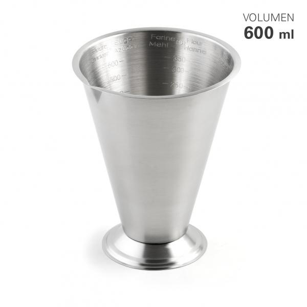 Messbecher konisch 600 ml