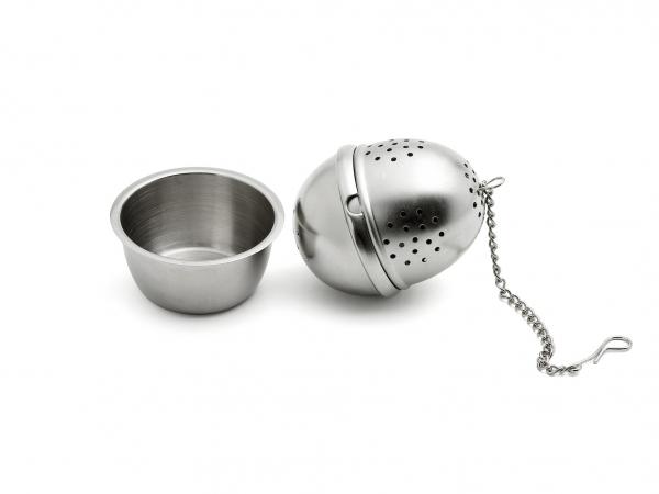 Tee-Brüher oval mit Schale