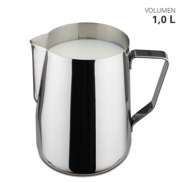 Milchgießer aus Edelstahl 1000 ml