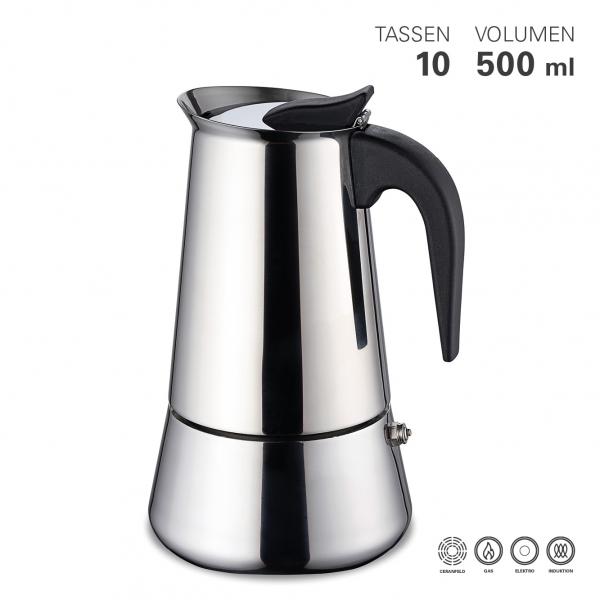 Espressokocher 9 Tassen
