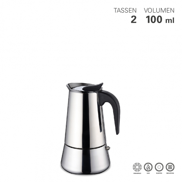 Espressokocher 2 Tassen