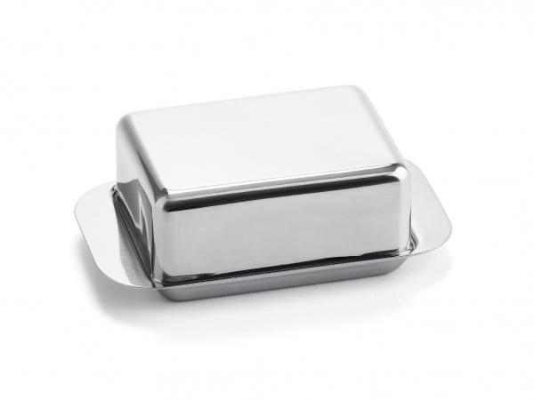 Butterdose 1/4 Pfund Edelstahl