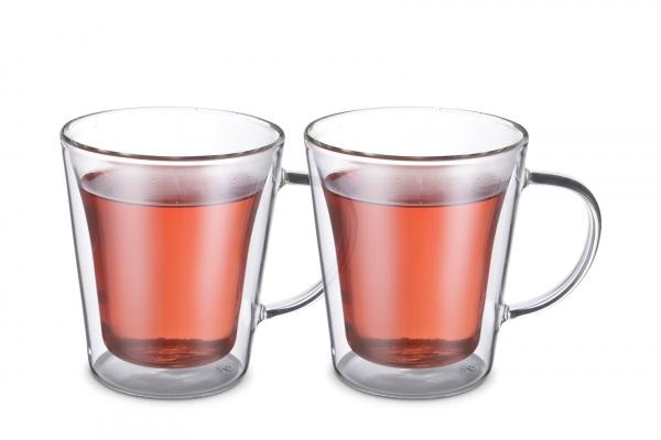 Tassen doppelwandig L 220 ml Set 2
