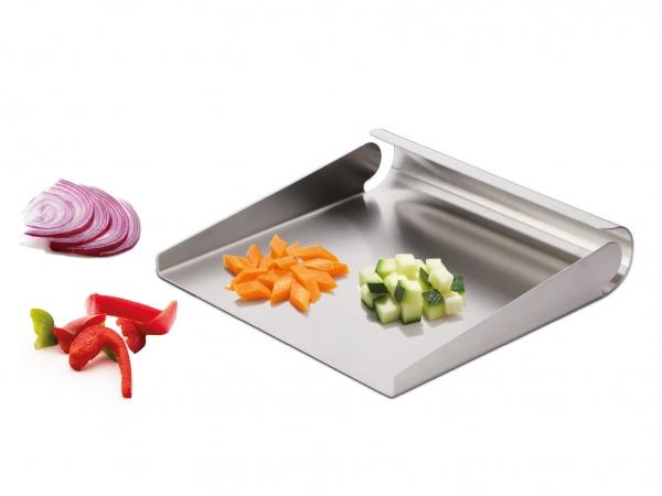 Gemüseschaufel aus Edelstahl