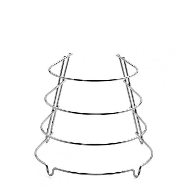 Pfannenständer Edelstahl
