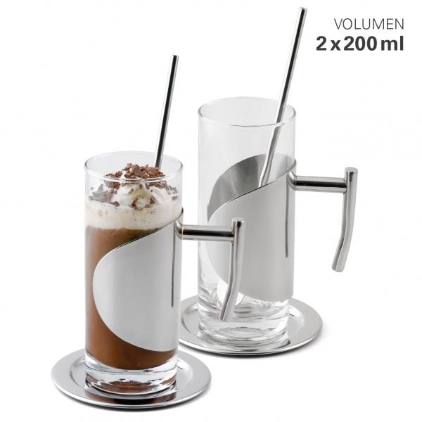 Eiskaffee-Gläser Set 2
