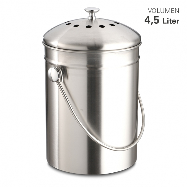 Biomüll-Abfalleimer 4,5 Liter