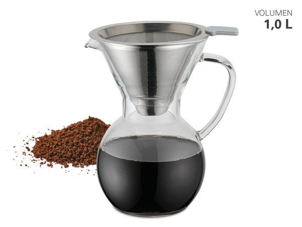 "Kaffeebereiter ""Pour Over"" inkl. Filter"