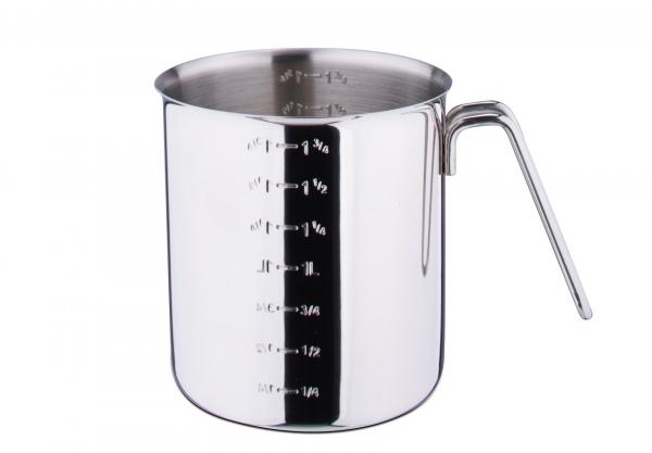 Messbecher Edelstahl poliert 1,75 Liter