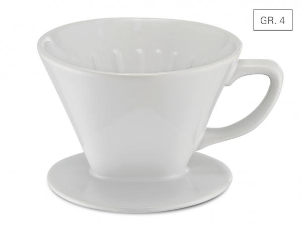 Kaffeefilter Porzellan Gr. 4