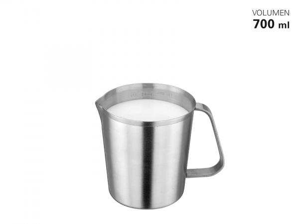 Messbecher Edelstahl satiniert 700 ml