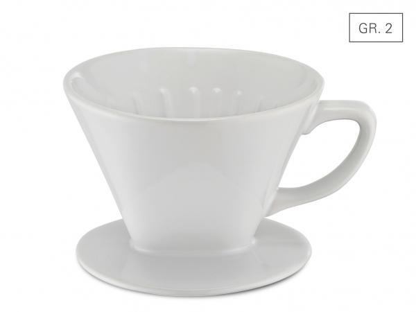 Kaffeefilter Porzellan Gr. 2