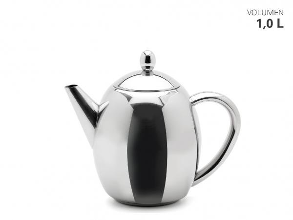 Teekanne mit Teefilter 1000 ml