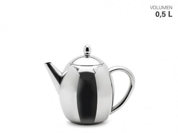 Teekanne mit Teefilter 0,5 L
