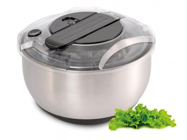 Salatschleuder Edelstahl / Kunststoff