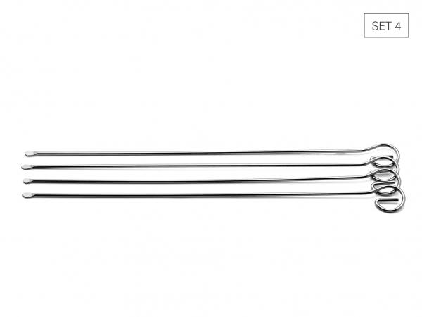 Schaschlikspiesse 28 cm, Set 4