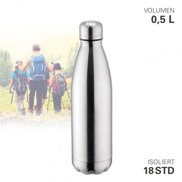 Thermoflasche vakuum 500 ml Edelstahl