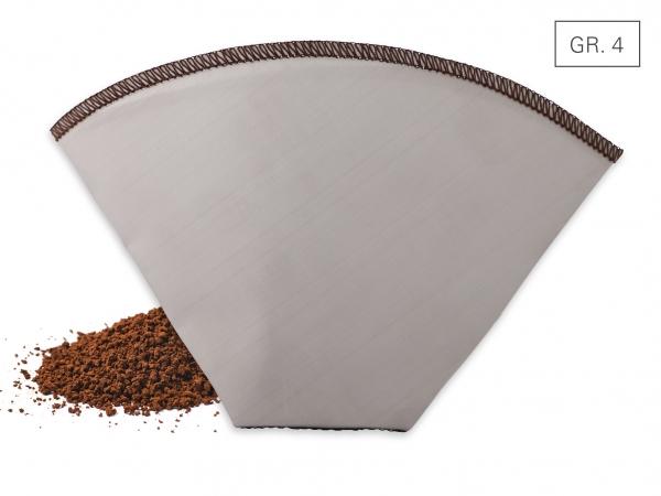 Kaffeedauerfilter faltbar Gr. 4